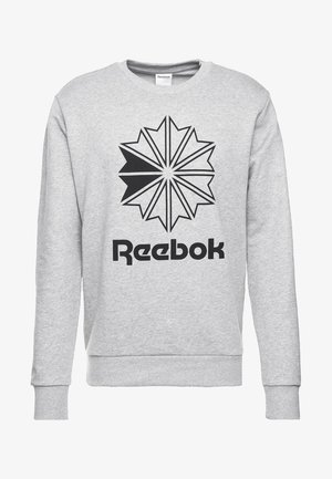 BIG STARCREST CREW - Sweatshirt - medium grey heather/black