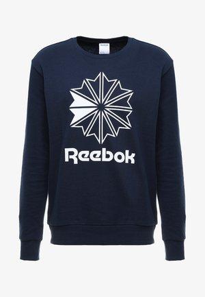 BIG STARCREST CREW - Sweatshirts - conavy/white