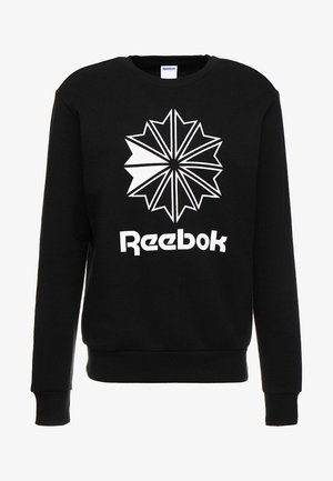 BIG STARCREST CREW - Sweatshirt - black/white