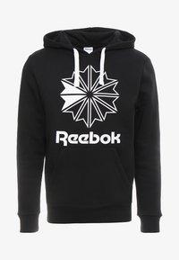 Reebok Classic - BIG LOGO HOODIE - Hoodie - black - 3