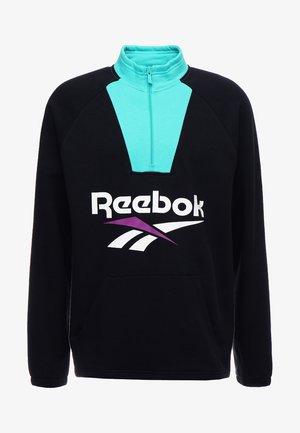 1/4 ZIP - Sweatshirt - black