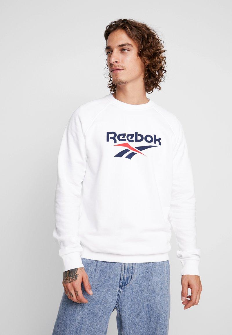 Reebok Classic - UNISEX CREW PULLOVER - Sweatshirt - white