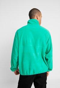 Reebok Classic - HALF ZIP POLAR - Fleecová mikina - emerald - 2