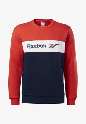 CLASSICS LINEAR CREW SWEATSHIRT - Sweatshirt - radiant red