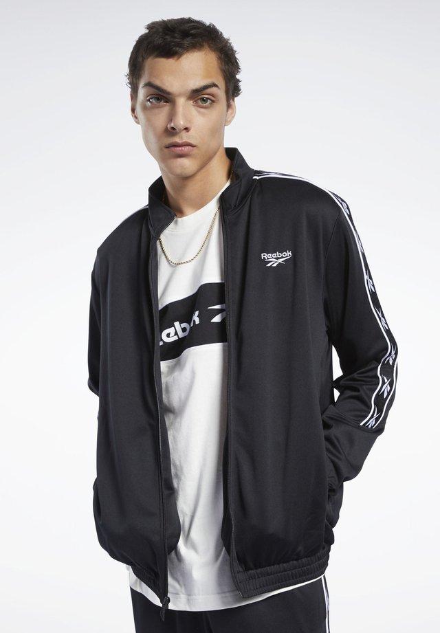 CLASSICS VECTOR TAPE TRACK JACKET - Training jacket - black