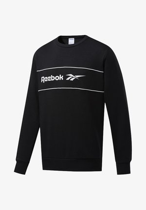 CLASSICS LINEAR CREW SWEATSHIRT - Sweater - black