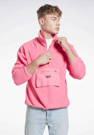 HALF-ZIP  - Fleece jumper - pink