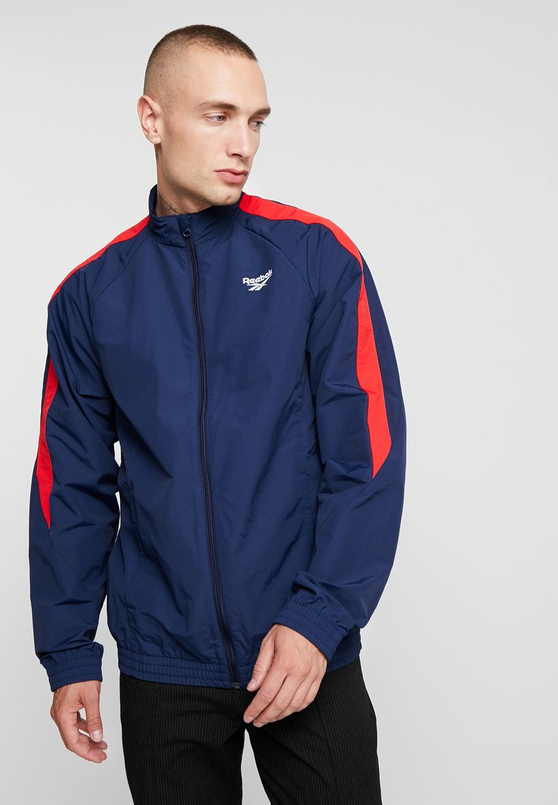 Reebok Classic - TRACK JACKET - Training jacket - collegiate navy
