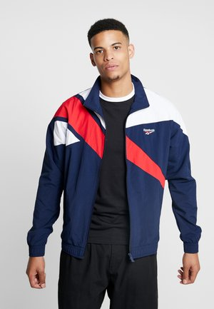 TRACK TOP LIGHT FULL ZIPPER - Summer jacket - collegiate navy