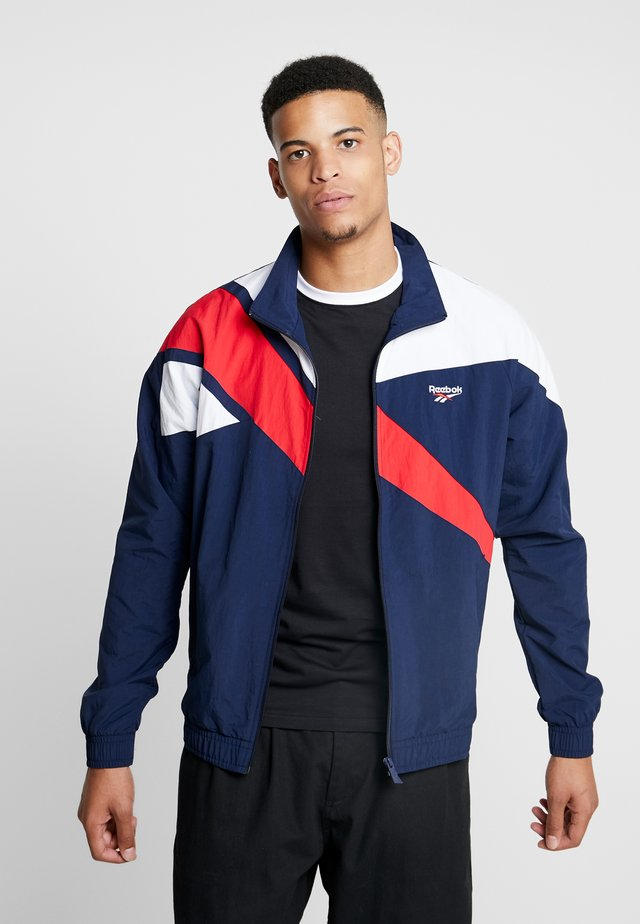 TRACK TOP LIGHT FULL ZIPPER - Kurtka wiosenna - collegiate navy