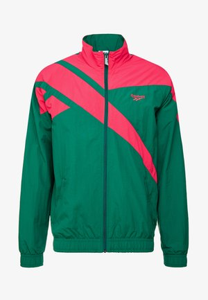 TRACK TOP LIGHT FULL ZIPPER - Kevyt takki - clover green
