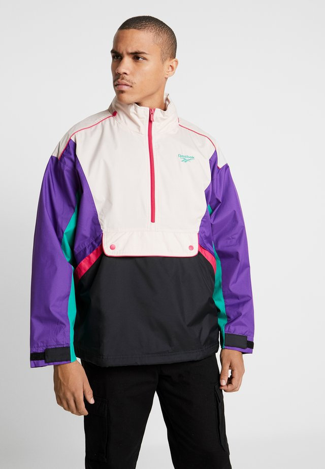 TRAIL JACKET - Wiatrówka - regal purple
