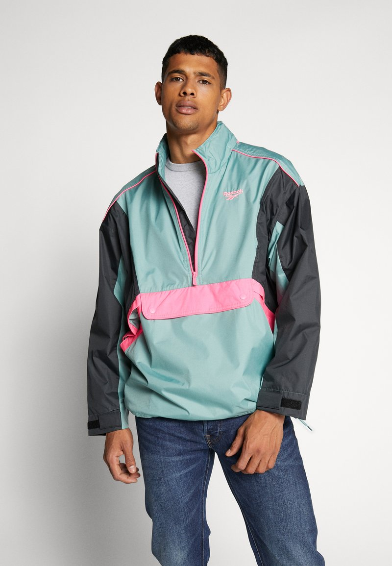 Reebok Classic - TRAIL JACKET - Wiatrówka - metallic green