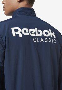 Reebok Classic - Verryttelytakki - blue - 4
