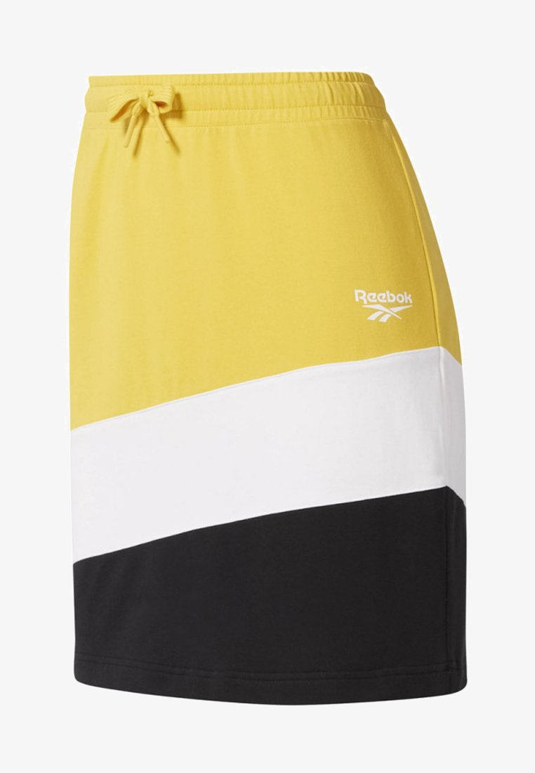 Reebok Classic - CLASSICS VECTOR JERSEY SKIRT - Sportrock - toxic yellow
