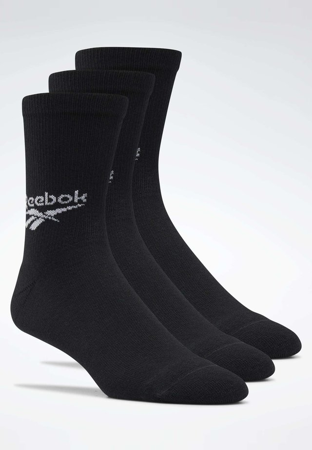 CLASSICS CREW SOCKS 3 PAIRS - Sports socks - black