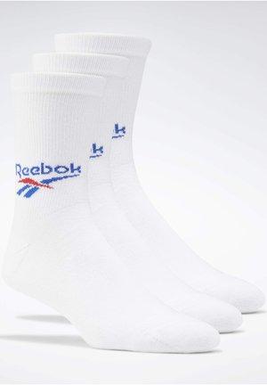 CLASSICS CREW SOCKS 3 PAIRS - Chaussettes de sport - white