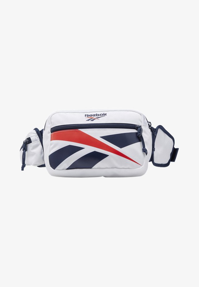 CLASSICS REPEAT VECTOR WAIST BAG - Rumpetaske - white