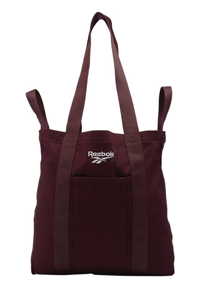 CLASSICS FOUNDATION TOTE - Shoppingväska - burgundy