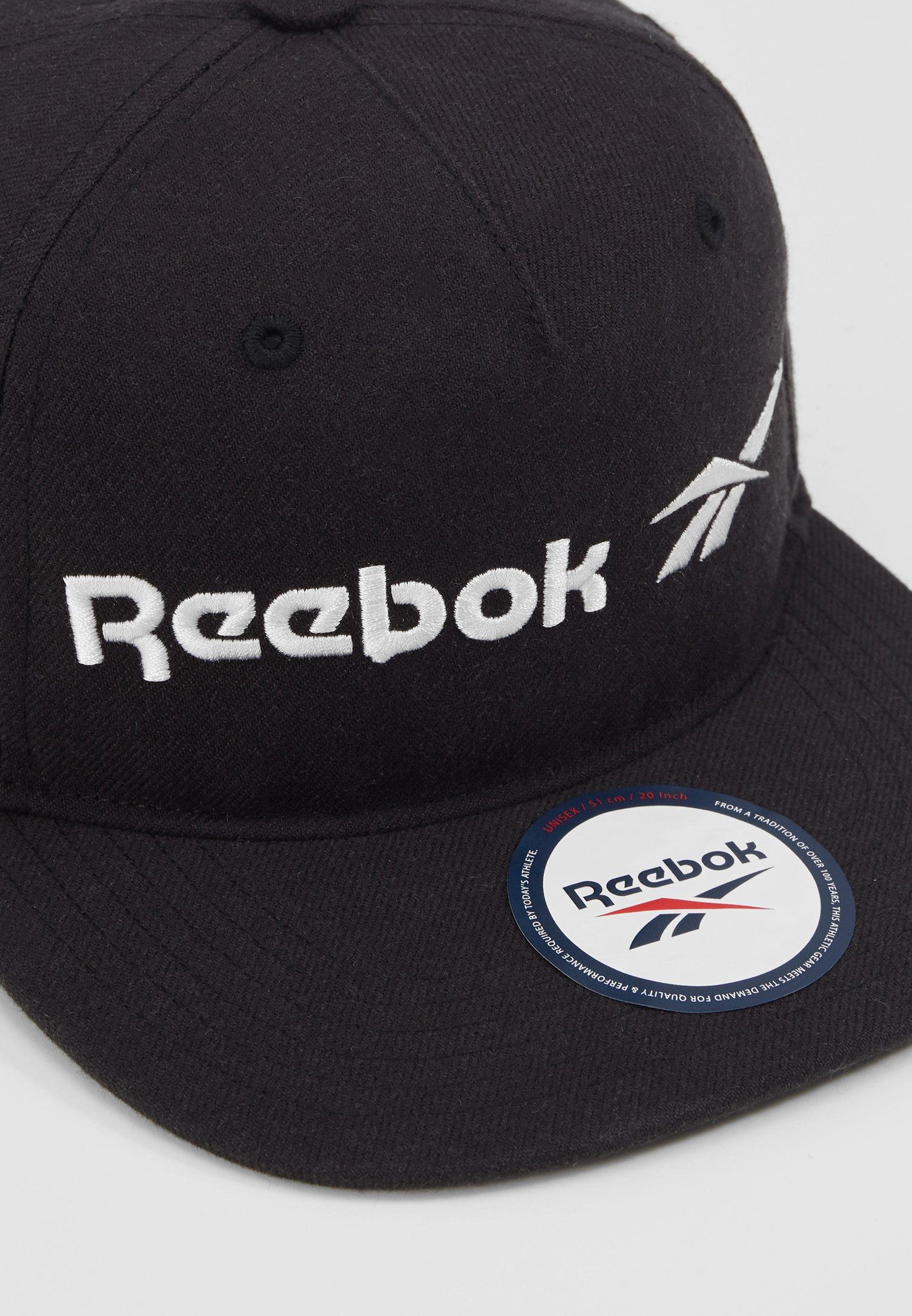 Reebok Classic VECTOR FLAT PEAK - Caps - black