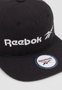 Reebok Classic - VECTOR FLAT PEAK - Czapka z daszkiem - black - 2