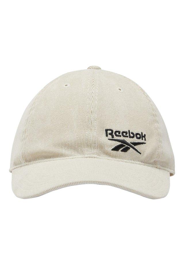 CLASSICS CORDUROY CAP - Lippalakki - beige