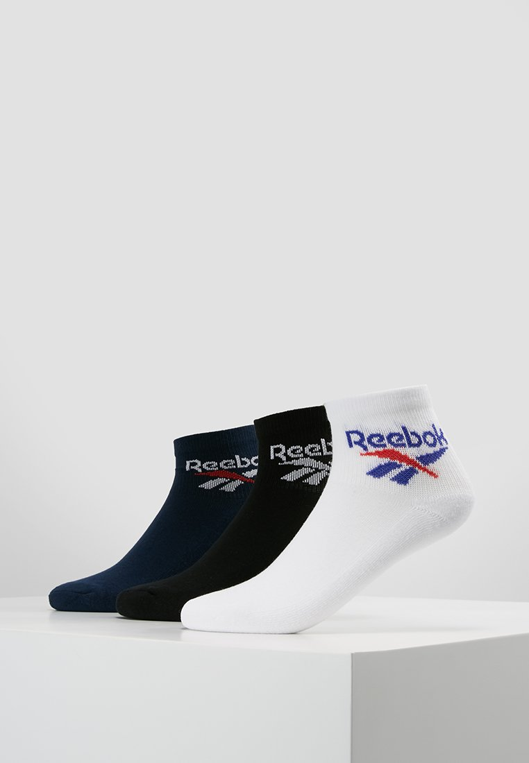 Reebok Classic - LOST & FOUND 3 PACK - Socken - black/collegiate navy/white