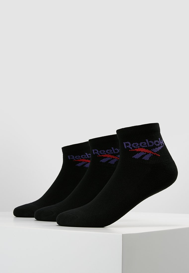 Reebok Classic - LOST & FOUND 3 PACK - Socken - black