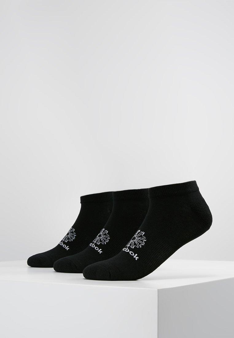 Reebok Classic - NO SHOW SOCK 3 PACK - Socken - black