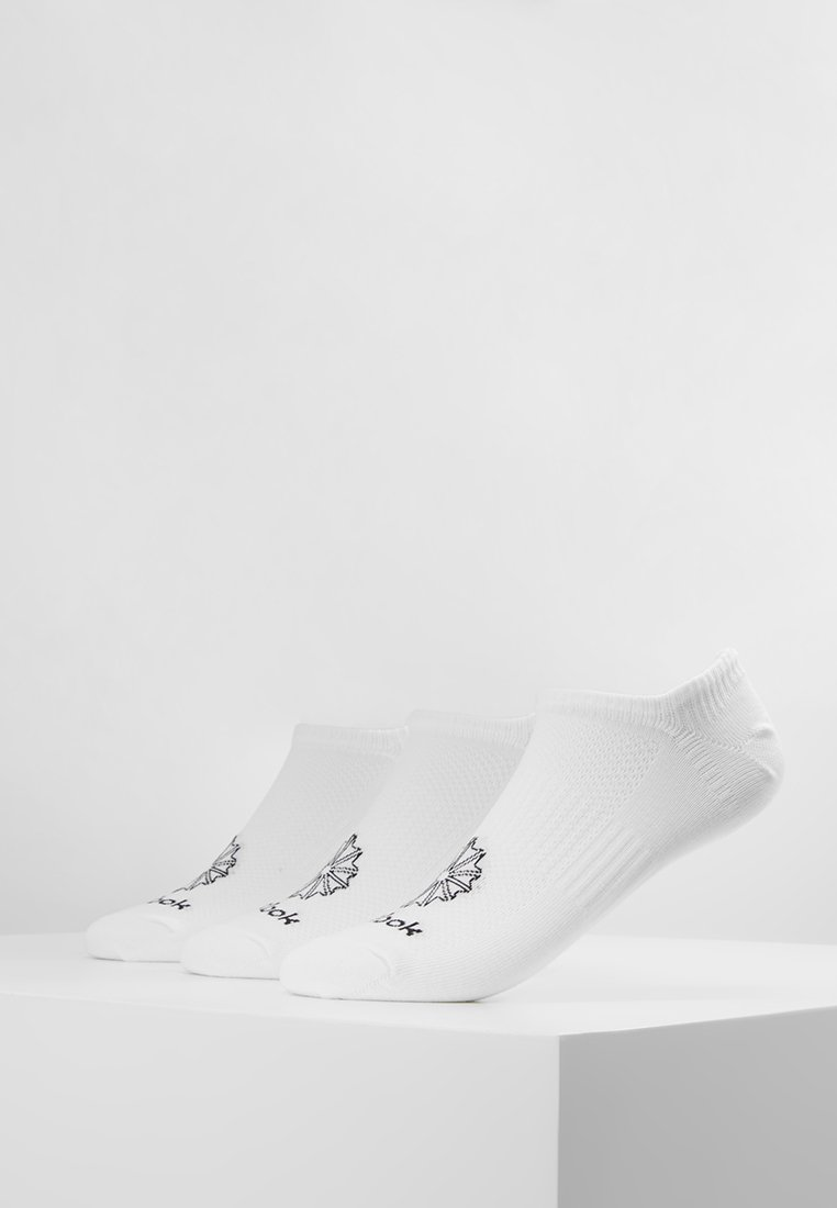 Reebok Classic - INVISIBLE 3 PACK - Socken - white