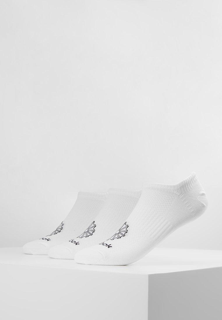 Reebok Classic - INVISIBLE 3 PACK - Sokken - white