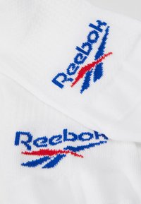 Reebok Classic - INVISIBLE SOCK 3 PACK - Socks - white - 2