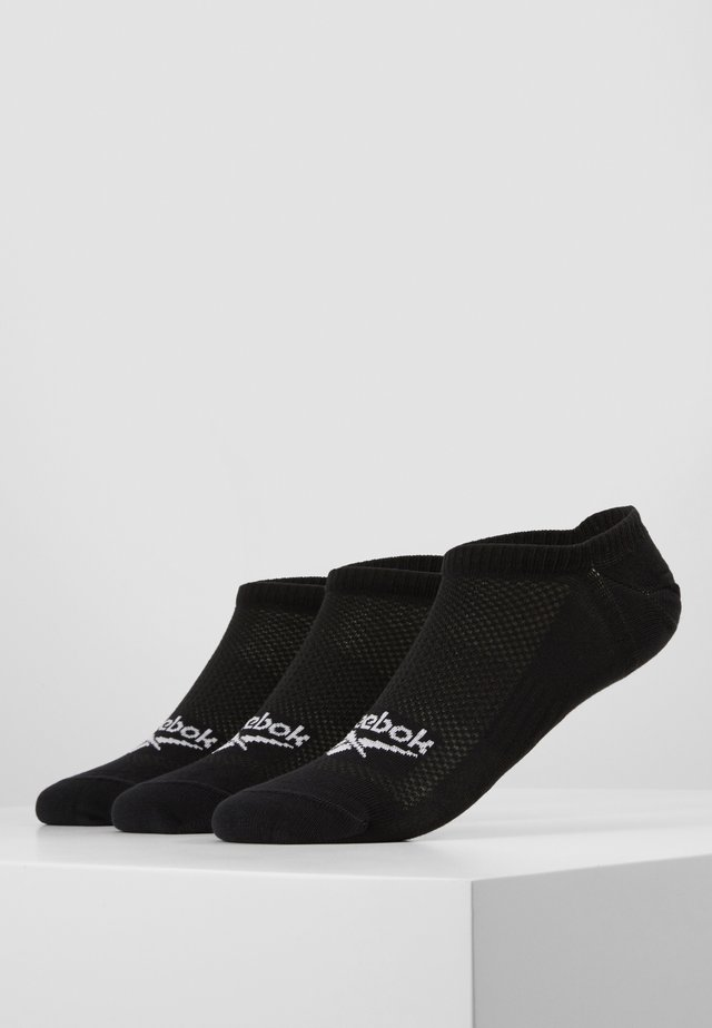 INVISIBLE SOCK 3 PACK - Ponožky - black