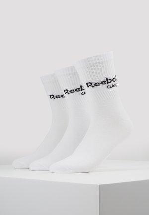 CORE CREW 3PACK - Strumpor - white