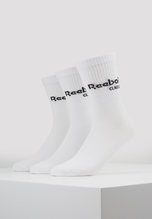 CORE CREW 3PACK - Ponožky - white