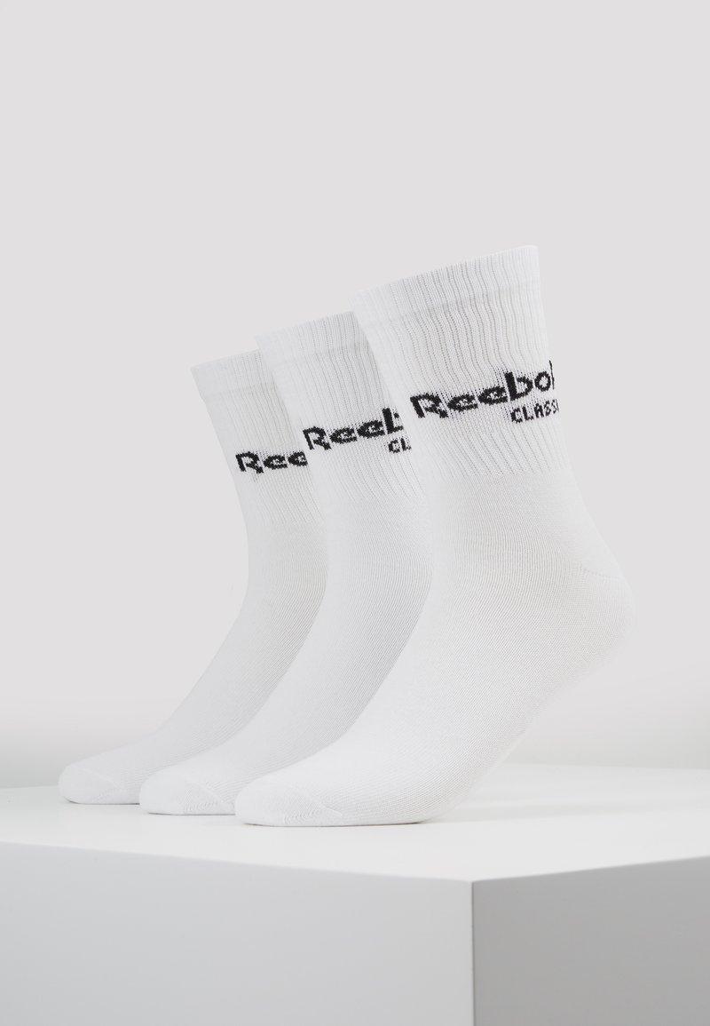 Reebok Classic - CORE CREW 3PACK - Sokker - white