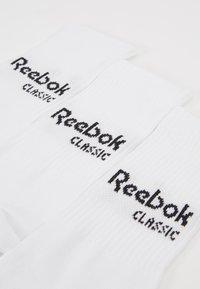 Reebok Classic - CORE CREW 3PACK - Sokker - white - 2