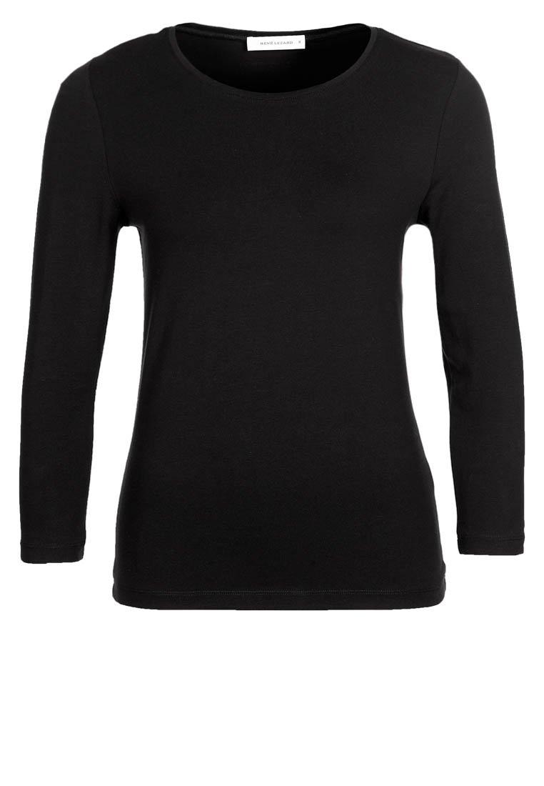 RENÉ LEZARD - Langarmshirt - black