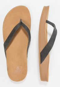 Reef - CUSHION BOUNCE COURT - Flip Flops - black - 1