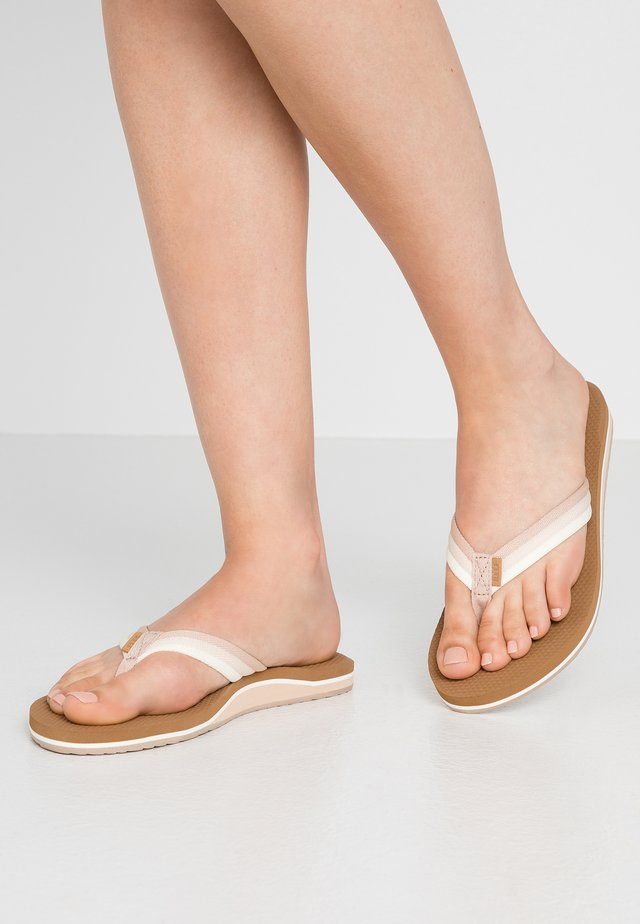 VOYAGE LITE BEACH - T-bar sandals - natural ombre