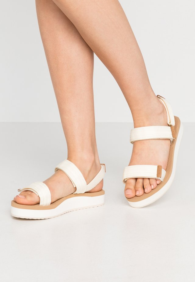 VOYAGE LITE SEAS - Sandály na platformě - vintage white