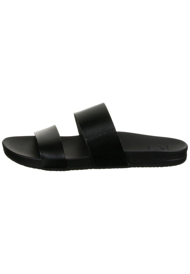 CUSHION BOUNCE VISTA  - Pantolette flach - black cushion bounce vista