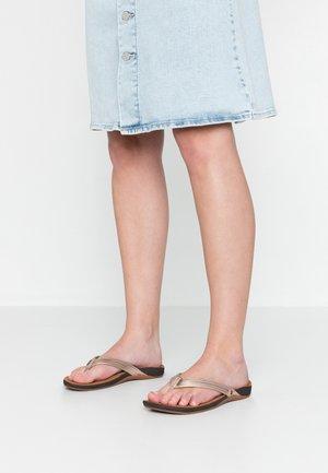 MISS J-BAY - T-bar sandals - rose gold
