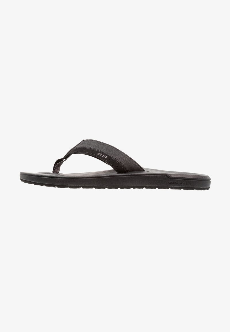 Reef - CONTOURED CUSHION - Teensandalen - black