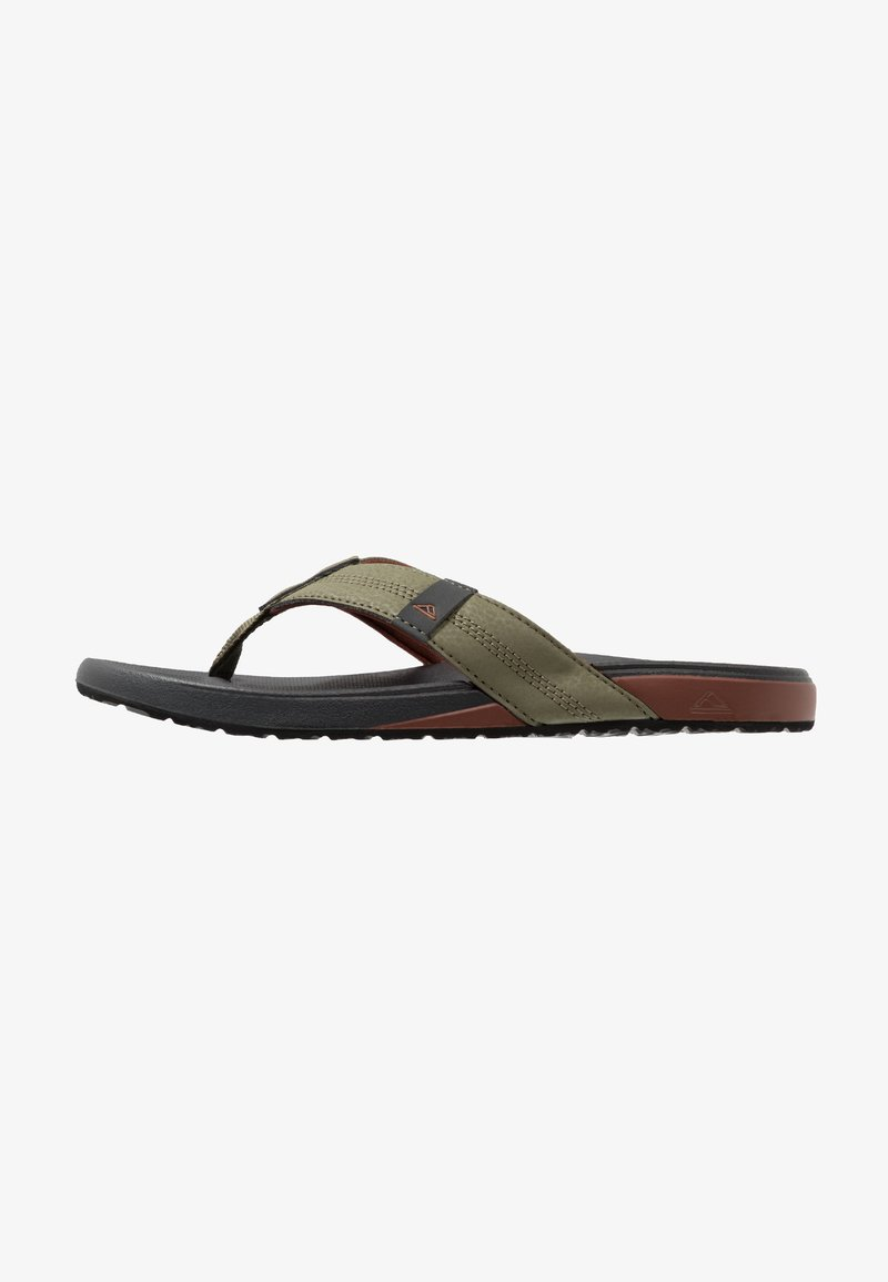 Reef - CUSHION BOUNCE PHANTOM - Flip Flops - olive/red