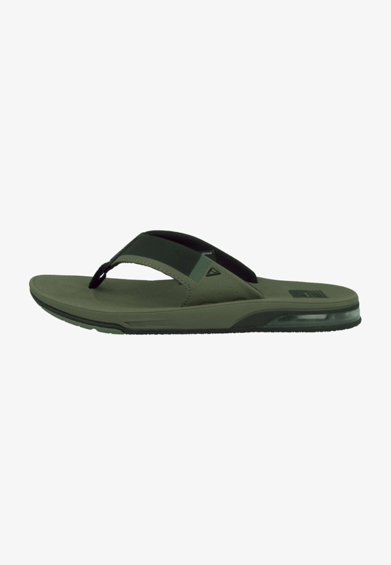 Reef - FANNING LOW - T-bar sandals - olive