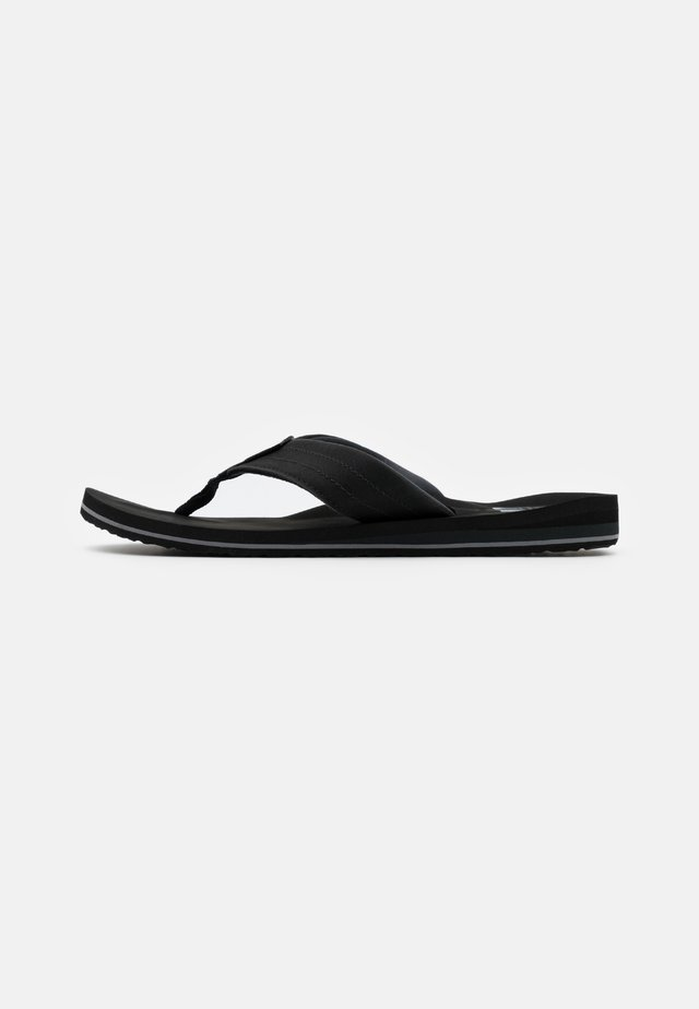 TWINPIN LUX - T-bar sandals - black