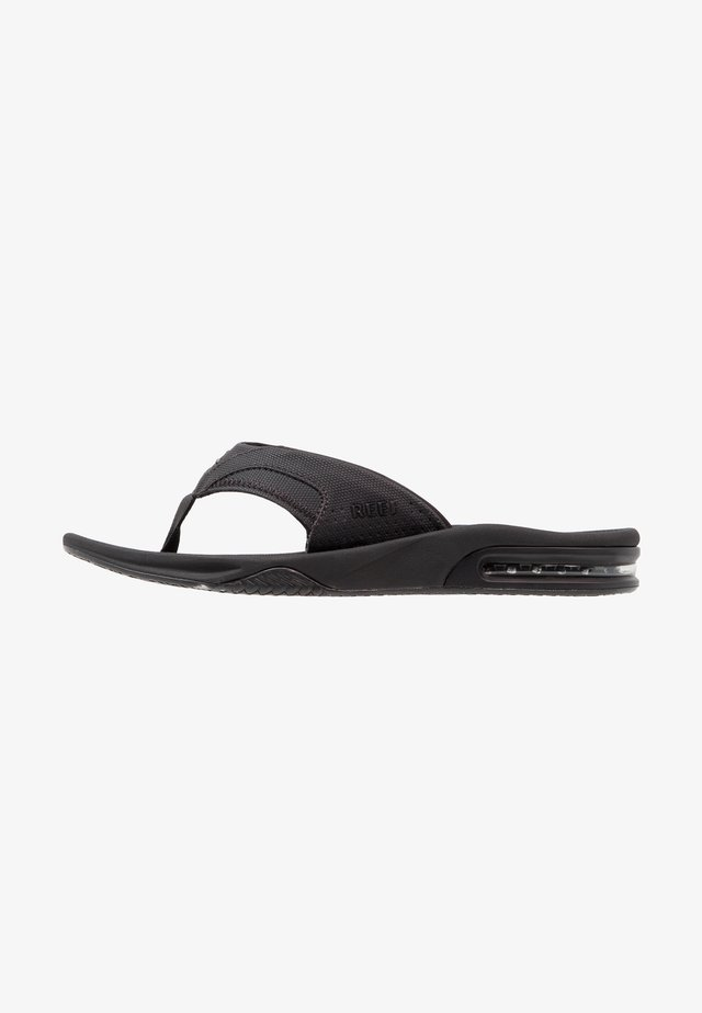 Sandaler m/ tåsplit - schwarz