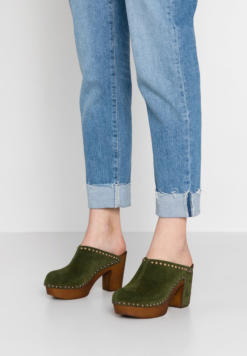 Replay - BLANK - Clogs - military green