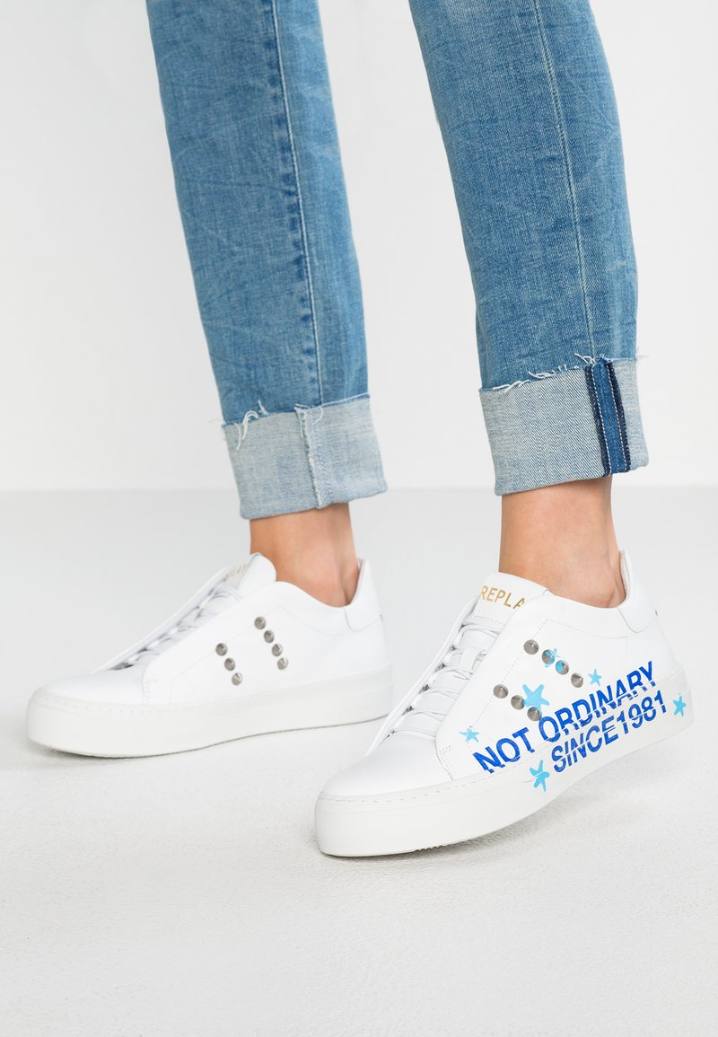 Replay - VIVIEN - Trainers - white/blue/light blue